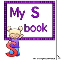 Letter S adapted book for Early Childhood, Autism and Spec