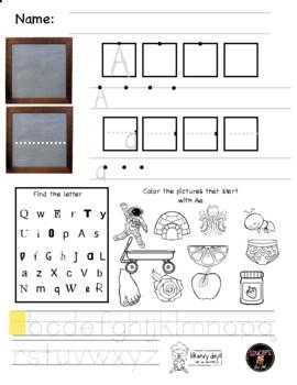 Letter S worksheet