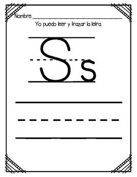 Aprendiendo la Letra S