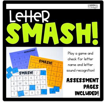 Letter SMASH! Letter/Letter Sound recognition game