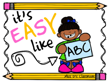 it's EASY like ABC!