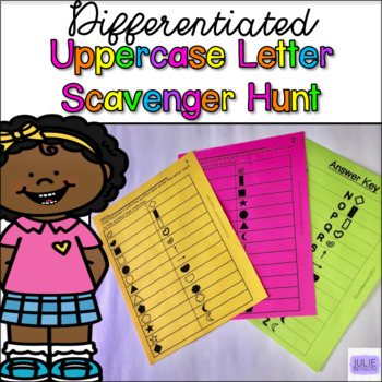 Letter Scavenger Hunt- Capital Letters