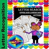 Alphabet Letter Search (Uppercase and Lowercase Mixed)