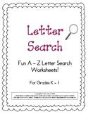 Letter Search A - Z