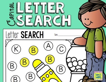Letter Search - Capital Letters