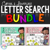 Letter Search - Capital & Lowercase BUNDLE