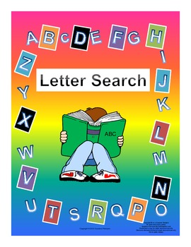 Letter Search Upper and Lower Case