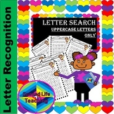 Alphabet Letter Search Uppercase Only