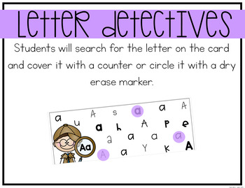 Alphabet Center: Letter Search and Finds