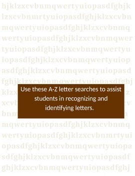 Letter Searches