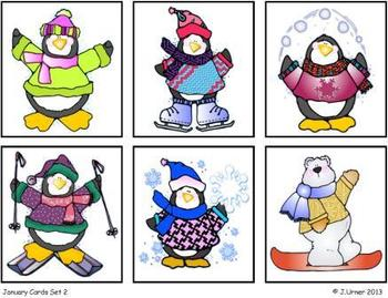 Letter Sequencing (Winter Theme): Write the Room