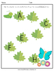 Letter Sequencing Worksheets (Butterfly Theme)