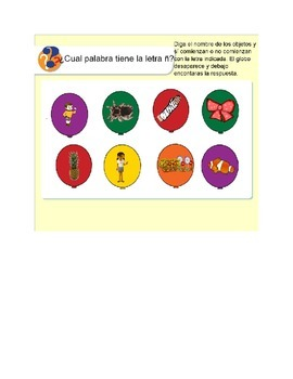 Spanish Letter Ñ Interactive Smart Board Activities