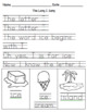 Letter Song Worksheets