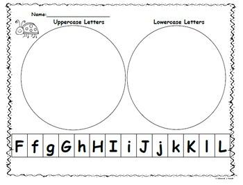 Kindergarten Wonders Start Smart:Letter Sort Capitals/Lowercase Ff-Ll