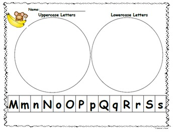 - Letter Sort Capital/Lowercase Mm-Ss