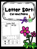 Letter Sort - Cut and Paste