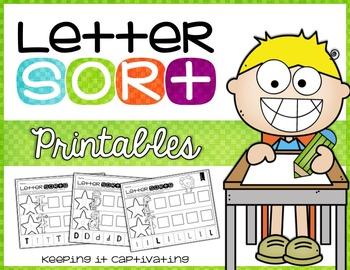 Letter Sort Printables