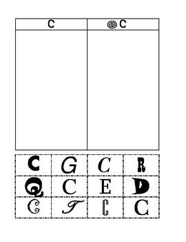 Letter Sort-Uppercase