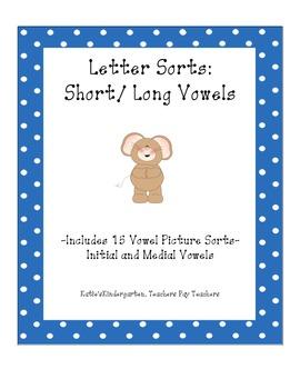 Letter Sort:  Vowels
