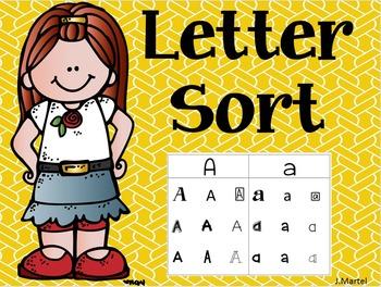 Letter Sort (editable)