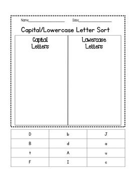 Letter Sorting!