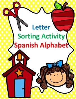 Letter Sorting Activity:  Spanish Alphabet