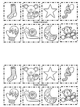 Letter Sorting-Cut & Paste Printables