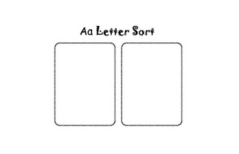 Letter Sorting Forms