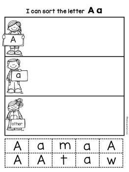 Letters / Letter Sounds / Alphabet Activities  Printables and Worksheets