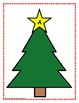 Letter Sorting Mats with Christmas Trees
