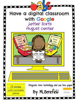 Letter Sorts - August Center (in Google: Digital and Interactive)