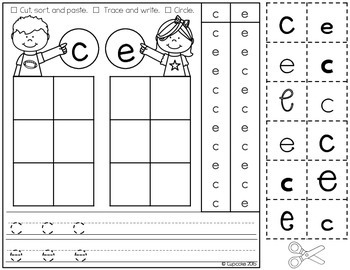 Letter Sorts Tricky Pairs {Printables}