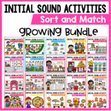 Letter Recognition & Letter Sound Activities | Beginning Sound Worksheets BUNDLE