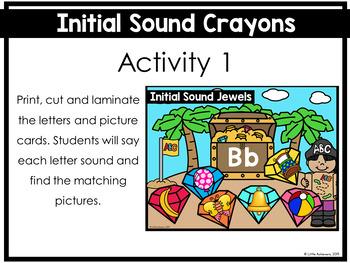 Letter Sound Activities | Beginning Sound Activities (Pirate Theme)