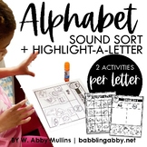 Letter Sound Activities Distance Learning