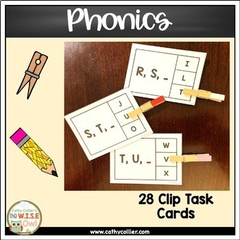Letter/Sound Activities:  Letter Order