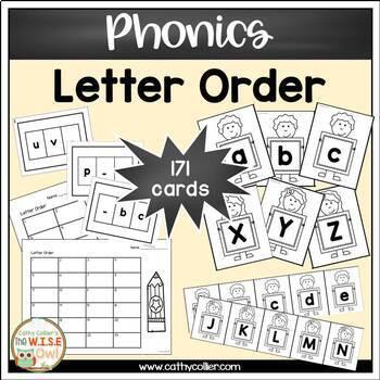 Letter/Sound Activities:  Letter Order