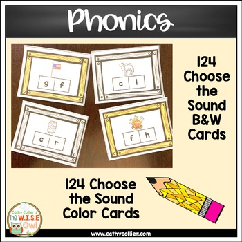 Letter/Sound Activities:  Letters and Sounds