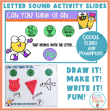 Letter Sound Activity Slides Google And PowerPoint Classro