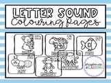 Letter Sound (Animals Version) Colouring / Coloring Pages