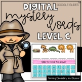 GOOGLE Classroom™ 54 Level C Mystery Sight Words for Dista