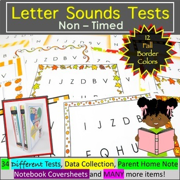 Letter Sound Assessment - Fall Theme