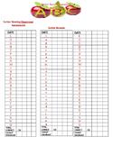 Letter/Sound Assessment Form aligned with Saxon Kindergart