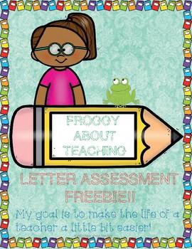 Letter - Sound Assessment Freebie