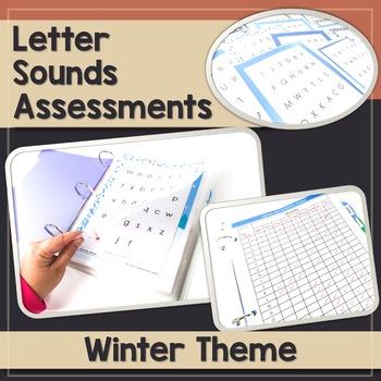 Letter Sound Assessment - Winter Theme
