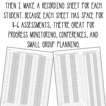 Letter & Sound Assessments