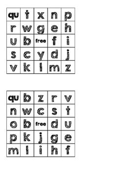 Letter/Sound BINGO!