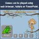 Letter Sound Fun! Beginning, Ending & Short Vowels Interactive Games {Monkey}