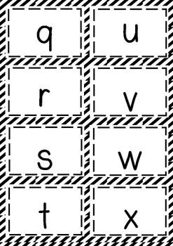 Letter Sound {Black and White}